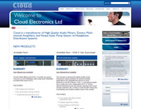 Cloud Commercial Audio Equipment - Click to visit