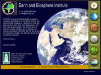 The Earth and Biosphere Institute - Click to visit