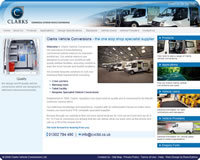 Clarks Commercial Interior Vehicle Conversions - Click to visit